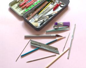 herramientas arcilla polimerica